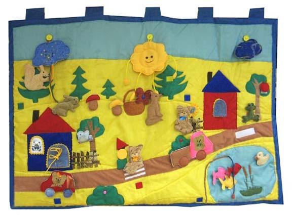 Сенсорные коврики для детей в детский сад